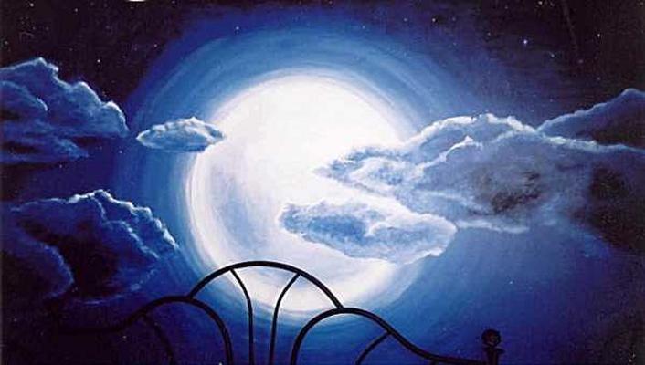 Murals for Blue moon mural